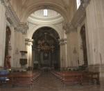 Cattedrale di san Feliciano navata centrale