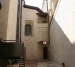 cortile interno palazzo delle canoniche