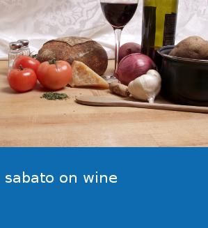 sabato on wine